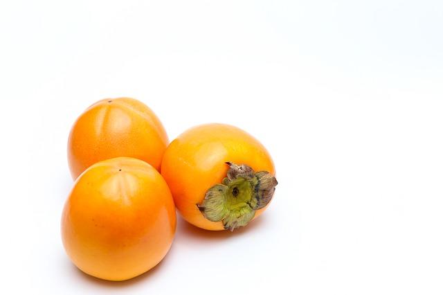 persymona, czyli owoc khaki